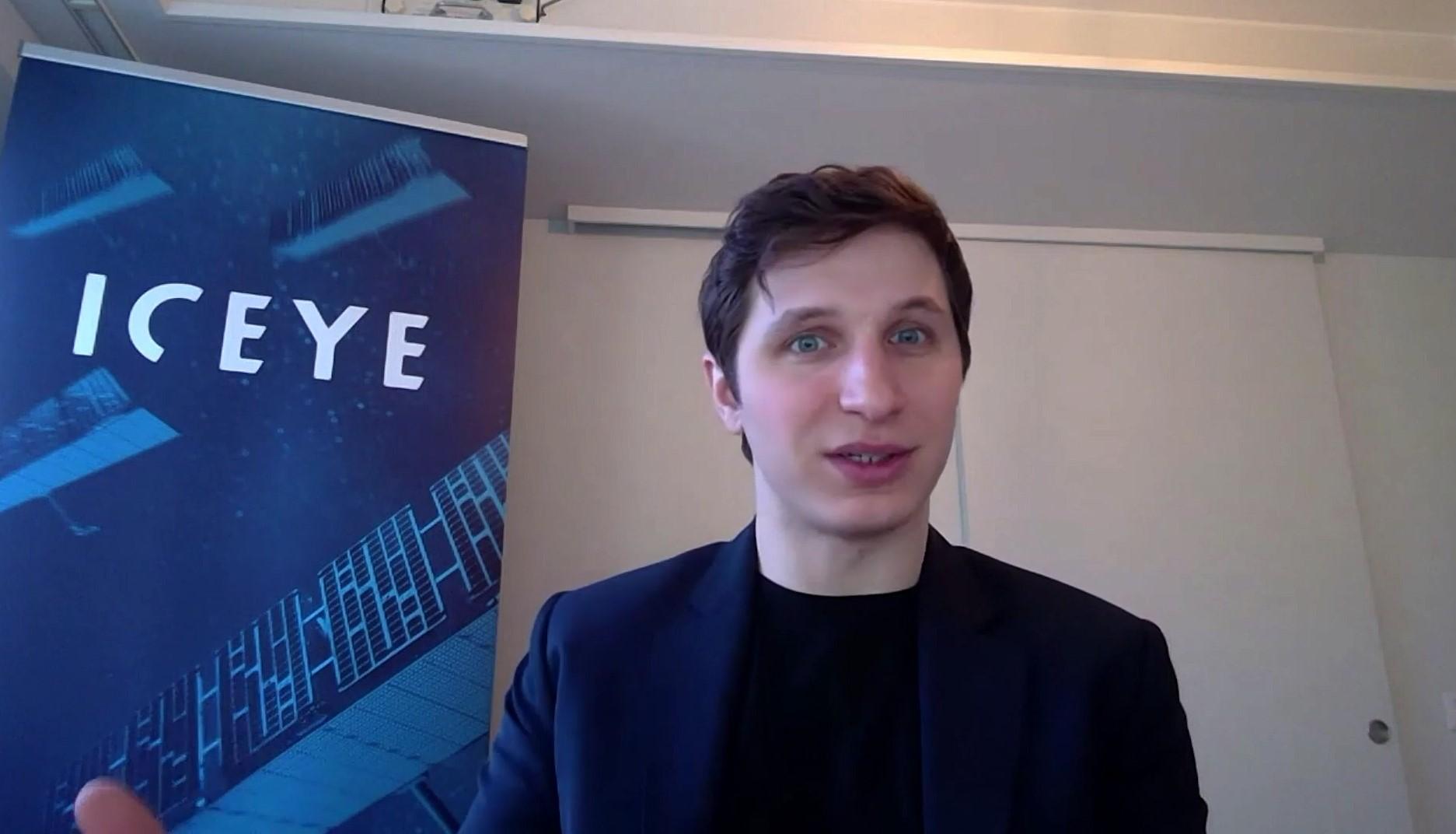 Rafał Modrzewski, współzałożyciel i prezes zarządu ICEYE Polska