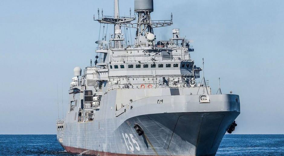 Rosja buduje dwa duże okręty desantowe koło granicy z Polską