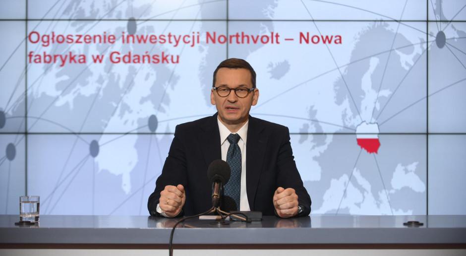 Premier: Inwestycja Northvolt ważnym punktem na industrialnej mapie Polski
