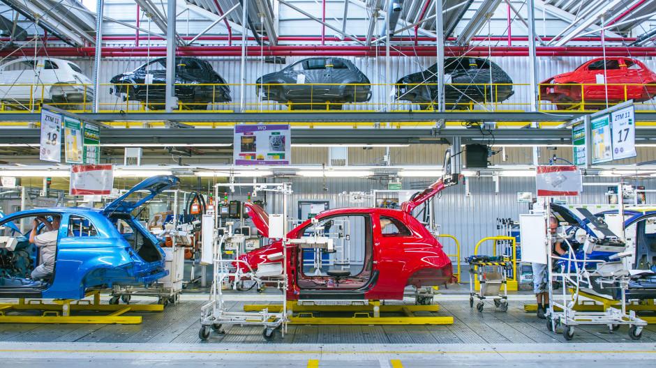 Modernizacji będą wymagały m.in. ciągi transportowe, które trzeba dostosować do większej platformy PSA. Fot. IK