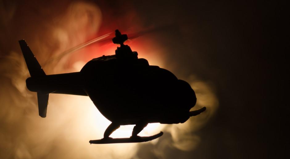 W wypadku helikoptera zginęły dwie osoby, nie żyje znany przedsiębiorca