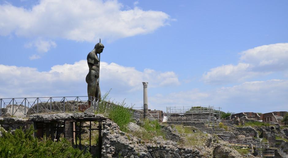Włochy: Niezwykłe odkrycie w Pompejach. Znaleziono wóz paradny