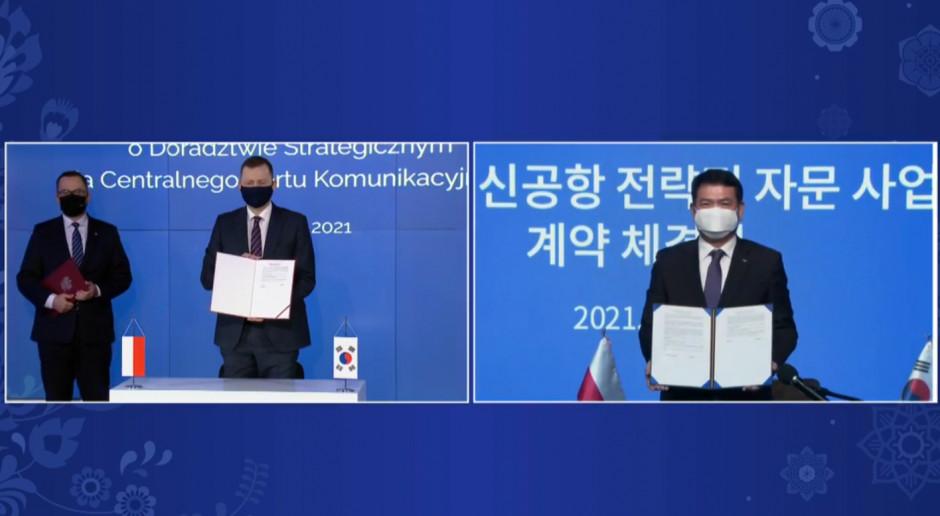 Raport otwierający pierwszym elementem współpracy CPK i koreańskiego doradcy strategicznego