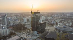 Wiecha na najwyższym budynku aglomeracji zagłębiowsko-śląskiej