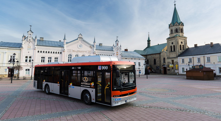 Autosan dostarczył kolejne autobusy na CNG