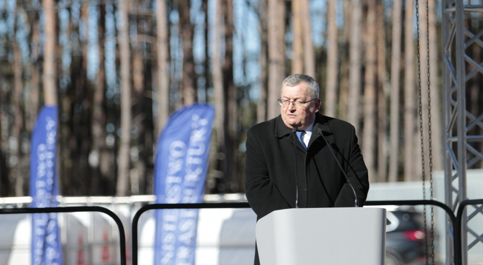 Adamczyk: Musimy zaczekać na decyzję środowiskową ws. wschodniej obwodnicy Warszawy