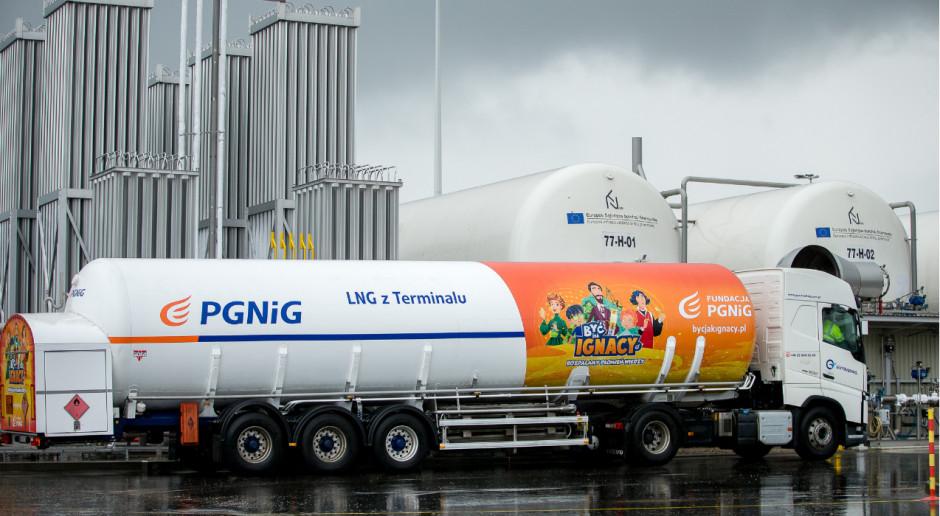 PGNiG załadowało już 300 cystern LNG w Kłajpedzie