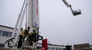 Najwyższy podnośnik strażacki w Unii będzie pracował w Grupie Lotos