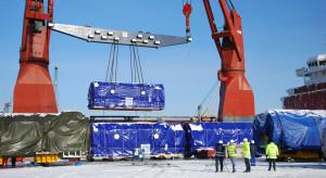 Dwa generatory, po 280 ton każdy, wypłynęły z Portu Gdynia