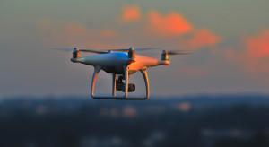 Drony sprawdzają, czy przestrzegane są restrykcje epidemiczne