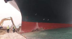 Kontenerowiec, który zablokował Kanał Sueski, dopłynął w końcu do portu