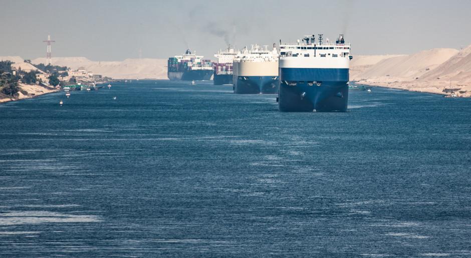 Znowu groźnie na Kanale Sueskim. Zarząd najadł się wielkiego strachu