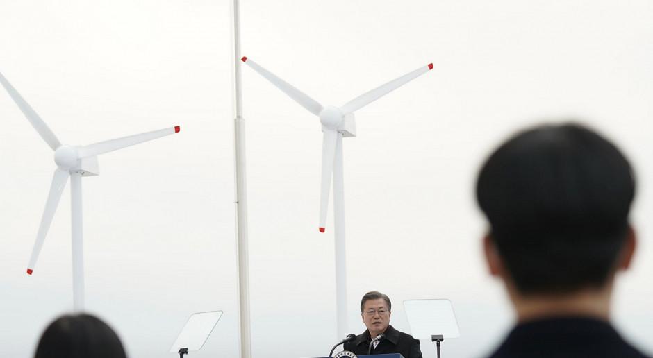 Korea zbuduje największą na świecie morską farmę wiatrową