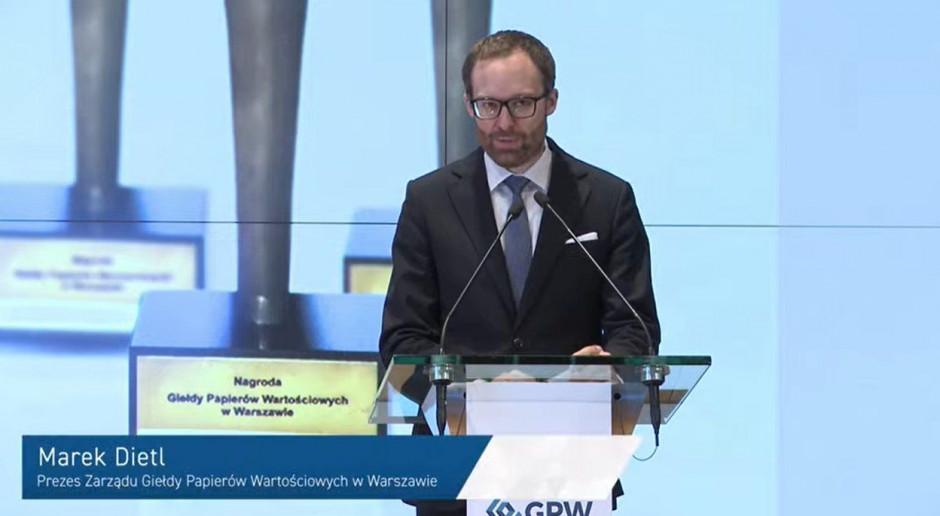 GPW nagrodziła liderów polskiego rynku kapitałowego