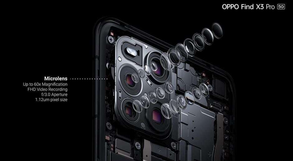 Oppo pokazało smartfona, który może służyć za mikroskop