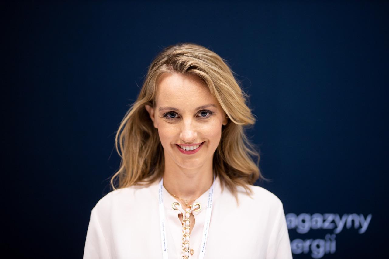 - Otwieramy nowe możliwości, które nie były dostępne dla tradycyjnego krzemu – tłumaczy Olga Malinkiewicz, dyrektor ds. technologicznych i współzałożycielka Saule Technologies. fot. malinkiewicz olga 2km.