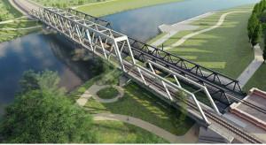 Rozpoczęła się budowa nowego mostu kolejowego nad Odrą