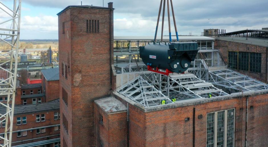 W Elektrociepłowni Elbląg zostały zamontowane kotły gazowe. Zobacz zdjęcia z transportu