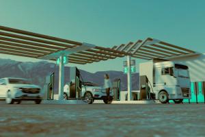 Ultraszybkie ładowarki naładują samochód na 100 km w minutę