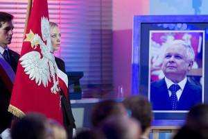 Jest wzór banknotu z wizerunkiem Lecha Kaczyńskiego