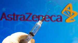 Szczepionka firmy AstraZeneca tylko dla osób w wieku ponad 30 lat
