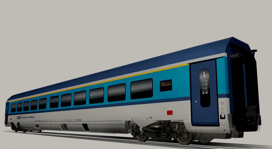 Koleje Czeskie stawiają na prędkość i kupują superszybkie wagony