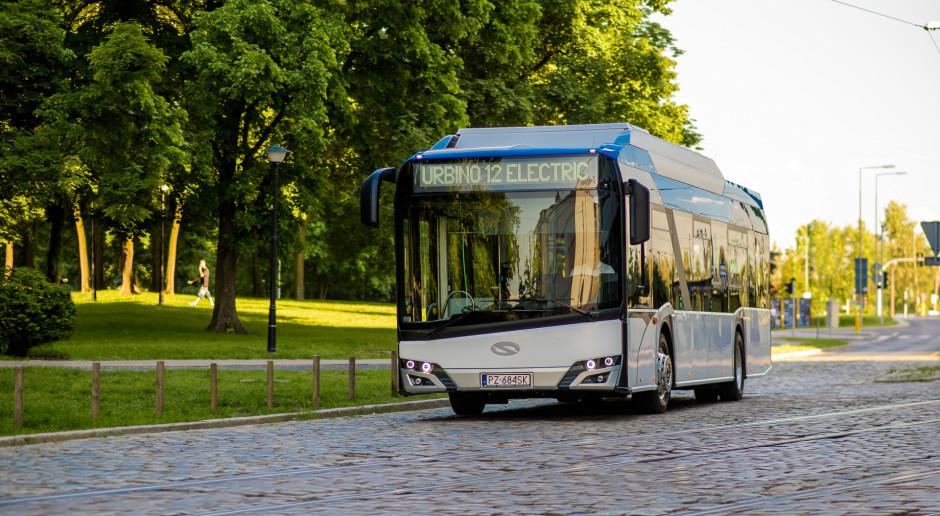 Ładowarki Siemensa dla elektrycznych Solarisów w Ostrawie