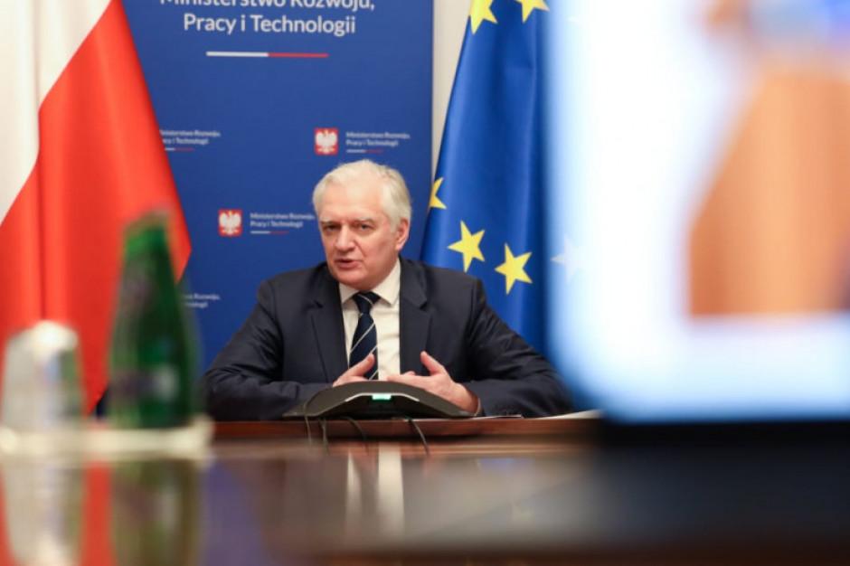 Jarosław Gowin wskazał na możliwości płynące z programu Horyzont Europa. Zdj. arch.