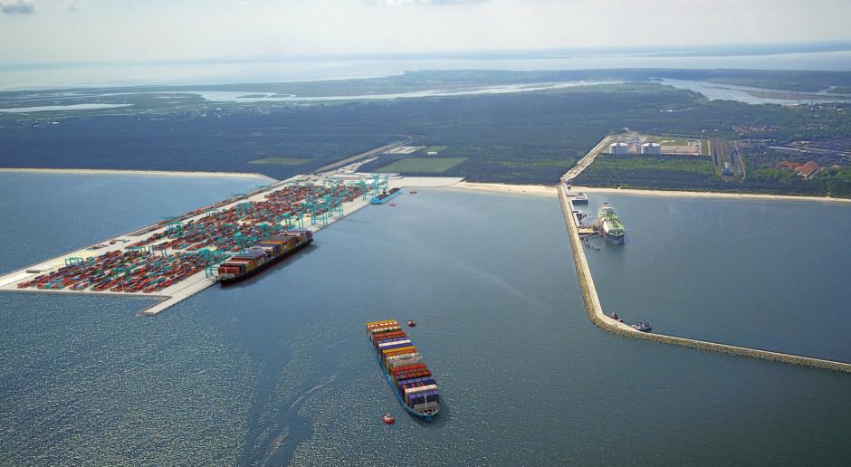 Jeden chętny do budowy terminala kontenerowego w Świnoujściu