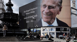 Pogrzeb księcia Filipa oglądało w telewizji prawie 13,6 mln osób