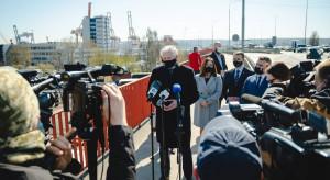 Wicepremier obiecuje nowe połączenie Gdyni z portem i Doliną Logistyczną