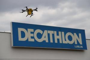 Decathlon Polska przetestuje transport dronami