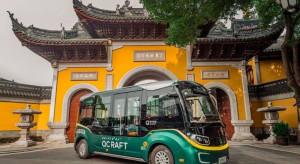 Autonomiczne autobusy w natarciu w Chinach