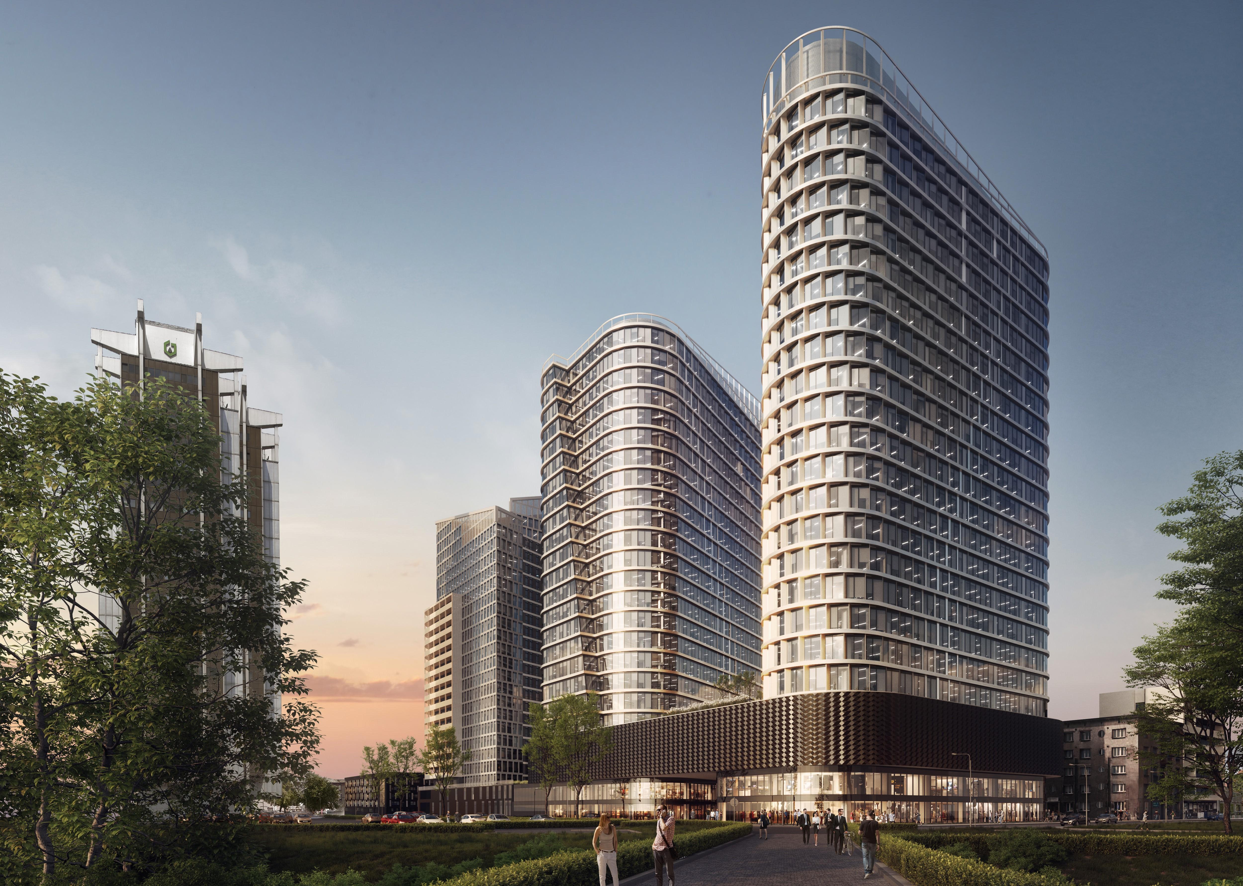 Wizualizacja inwestycji Global Office Park w Katowicach, fot. mat. pras.