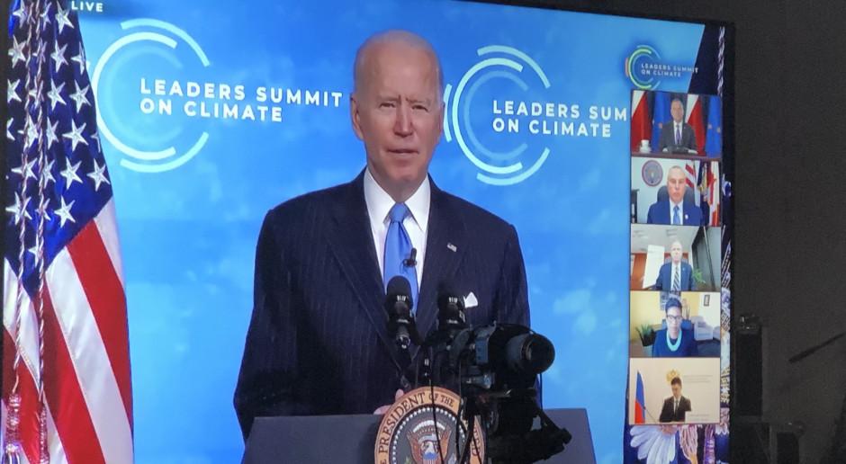 Szczyt klimatyczny: Joe Biden wzywa do współpracy w przejściu na czystą energię