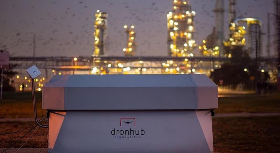 Dronehub z Polski została oficjalnym partnerem IBM