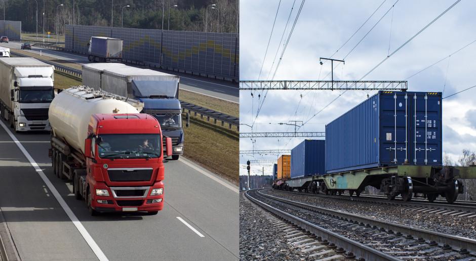 Ciężarówka kontra pociąg. Prawdziwe koszty i kto za to płaci