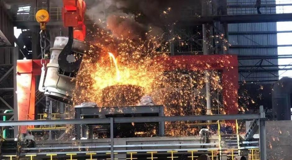 Chiny rozpoczynają produkcję stali przy użyciu wodoru na skalę przemysłową