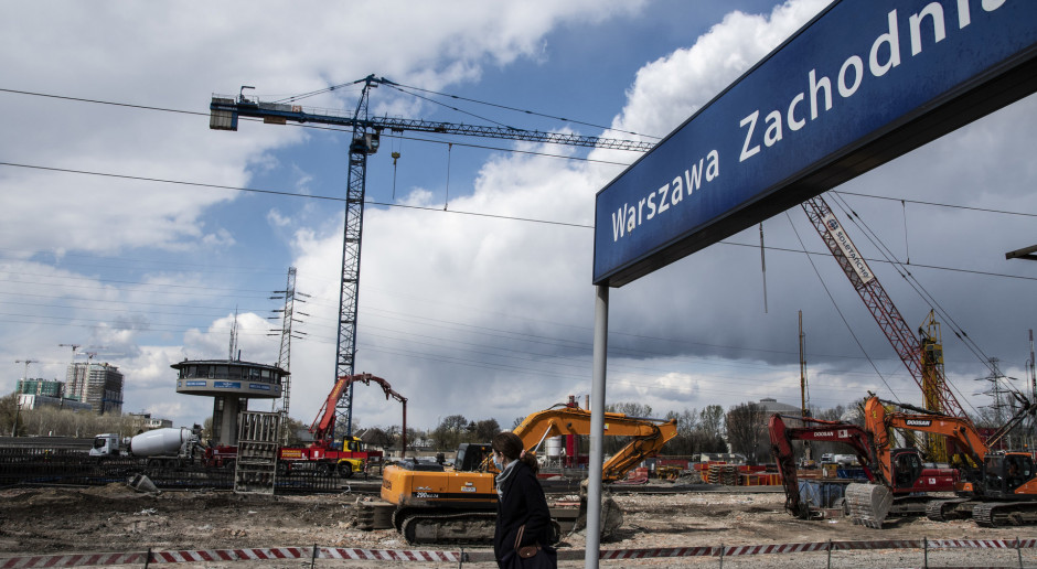 Przebudowa Warszawy Zachodniej za 2 mld zł