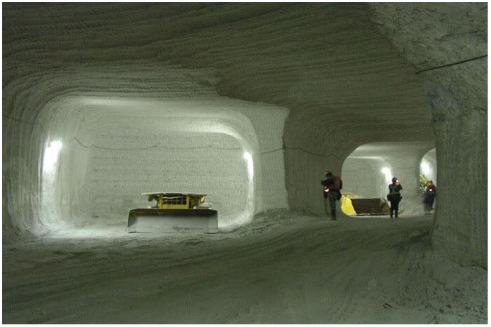 KGHM ma także poziom solny i jest sporym producentem tego związku. Fot. mat. pras.