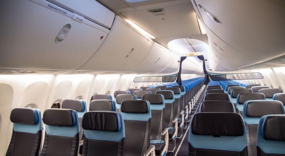 Linie KLM modernizują kabiny samolotów. Będzie bardziej zielono
