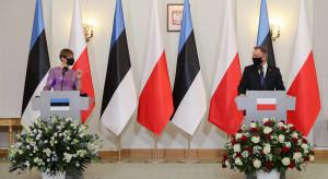 Bezpieczeństwo energetyczne i militarne kluczowe w relacjach Polski i Estonii