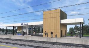 Kornelin buduje dworzec kolejowy