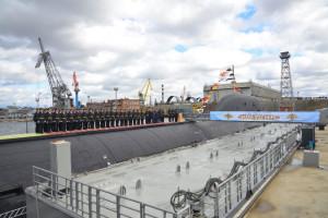 Rosyjska flota ma nowy wielki atomowy okręt podwodny