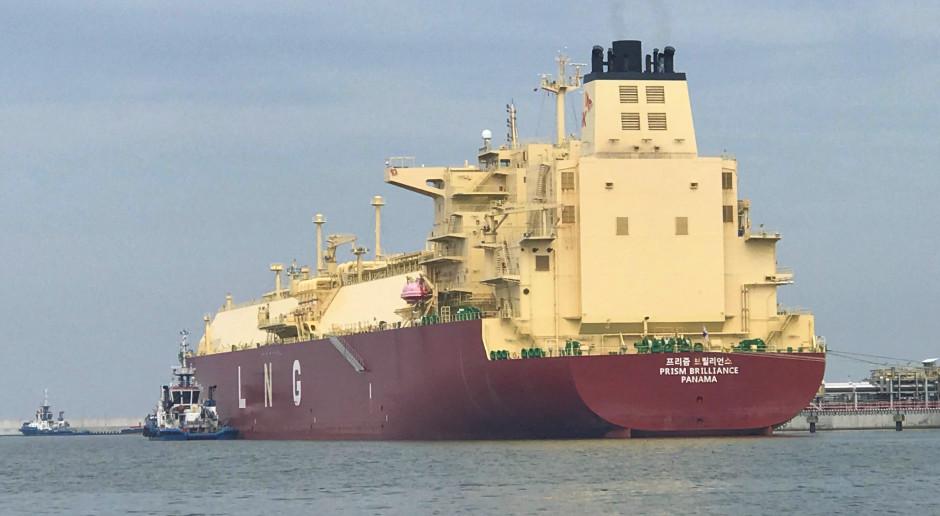 Amerykański ładunek LNG przypłynął do Świnoujścia