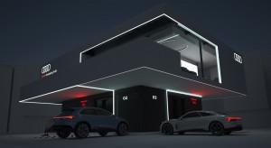 """Ładowarka z salonikiem na piętrze - pomysł Audi dla właścicieli """"elektryków"""""""