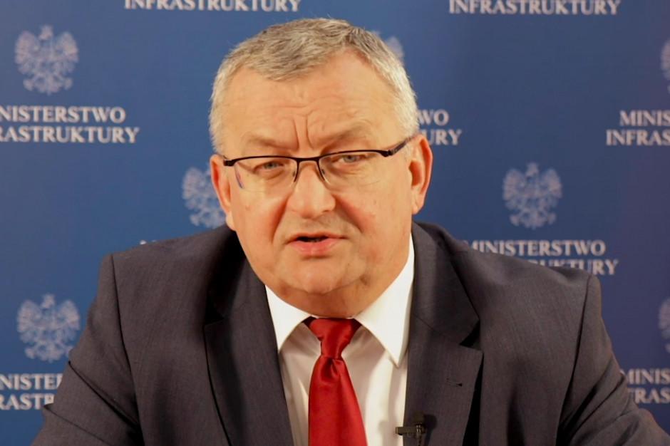 Minister infrastruktury zapowiada intermodalną ofensywę