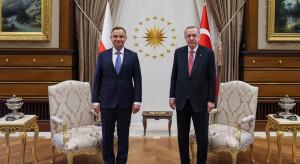 Prezydent Duda ma nadzieję, że niebawem wymiana gospodarcza Polski i Turcji sięgnie 10 mld dolarów rocznie