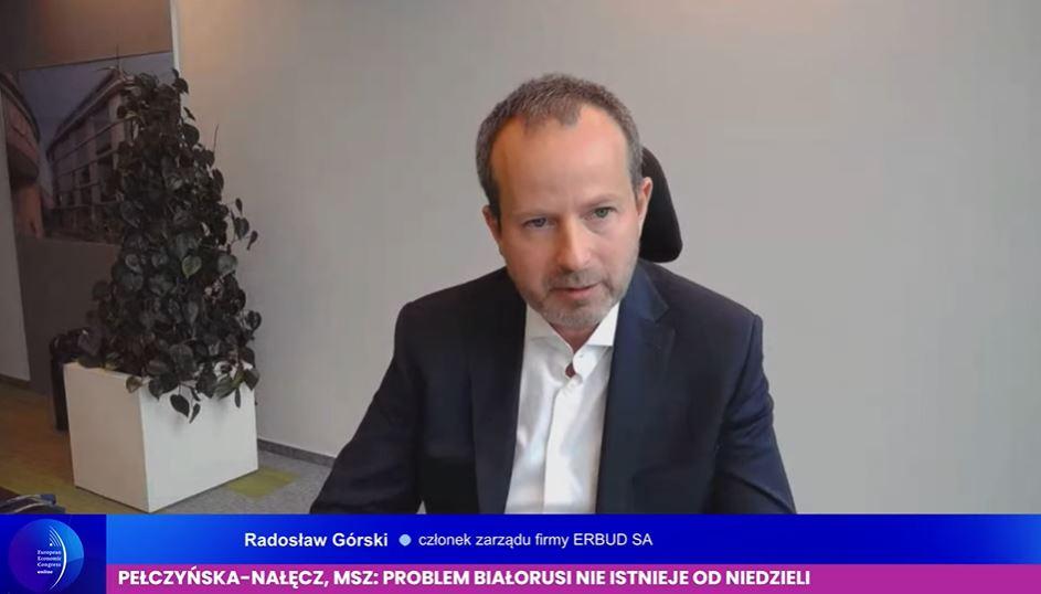 Radosław Górski, członek zarządu grupy Erbud. Fot. PTWP