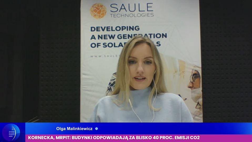 Olga Malinkiewicz, założycielka i dyrektor technologiczny Saule Technologies. Fot. PTWP